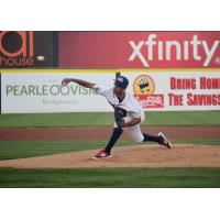 Somerset Patriots Pitcher Alexis Candelario Signed by Los Angeles Dodgers