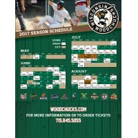 Woodchucks Announce 2017 Schedule