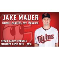 Jake Mauer to Manage Lookouts in 2017
