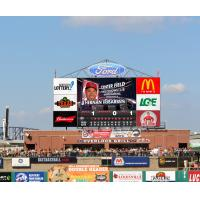 New HD Scoreboard Coming to Louisville Slugger Field in 2017