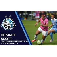 Canadian Midfielder Desiree Scott to Play for FC Kansas City