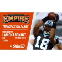 Empire Signs WR Lamont Bryant