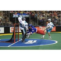 Vinc Backstops Knighthawks' Road Win