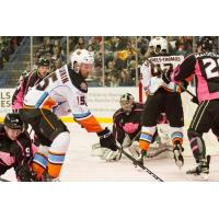 Sellout Pink in the Rink Crowd Watches Thrilling Contest; Reign Fall in OT to Gulls