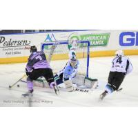 Scrappy Aces Battle to Shootout, Lose to Eagles