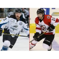 Komets Deal Vail to Idaho for Ewanyk and Mulvey
