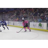 Mantha Nets Two Goals in Defeat from Roanoke