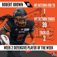 IFL Week 2 Players of the Week Announced