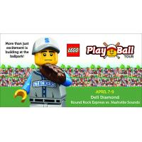 LEGO Play Ball Tour Visits Dell Diamond April 7-9