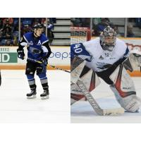 Highmore, Booth Named Student & Player of the Month