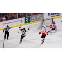 Nailers Drive Past Fuel on Wydo's Overtime Winner