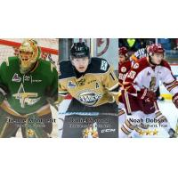 Montpetit, Sprong and Dobson Named Three Stars of the Week