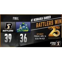 : Rattlers Take Down Danger, 39-36