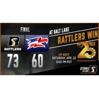 : Rattlers Stop the Screaming Eagles, 73-60