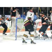 Komets Rally, Win Game One 4-3