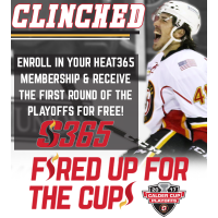 First Round of Playoffs FREE with New Heat365 Membership