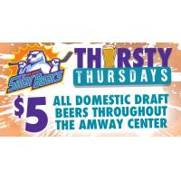 Celebrate Game 3 with Thirsty Thursday