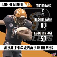 IFL Week 9 Players of the Week Announced