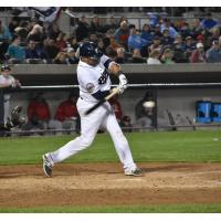 Yovan Gonzalez Hits Walk off Homer to Lead Somerset Patriots to Opening Day Victory