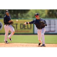 RiverDogs Can'T Dig out of Early Hole in Loss to BlueClaws