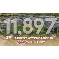 RoughRiders Welcome Third-Largest Crowd in Club History