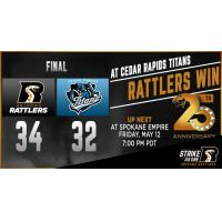 : Rattlers Take Down the Titans, 34-32