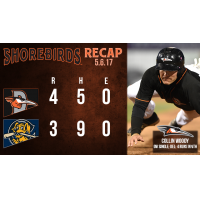 RECAP: Shorebirds Rally Back from Dead in Ninth, Shock 'Dogs