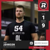 RedBlacks Select Evan Johnson with 9th Overall Pick in 2017 CFL Draft | Le ROUGE Et NOIR S=C3=A9lectionne Evan Johnson