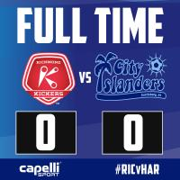 Islanders Battle to a Draw with the Richmond Kickers