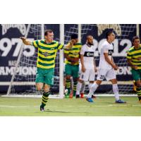 Collins Rescues Point for Tampa Bay Rowdies in 1-1 Draw against Saint Louis