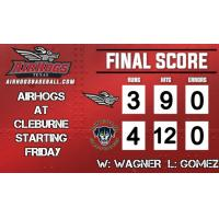 Saltdogs with Another Walkoff Win to Sweep AirHogs
