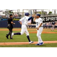 Drillers Finish Homestand with Walk-Off Victory