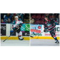NHL Combine Results for Foote and Lind
