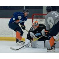 Team Blue Opens Training Camp with 4-2 Victory over Team Grey Tuesday