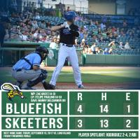 Sugar Land Ends Bridgeport Series with 4-3 Loss
