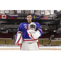 Dumont-Bouchard Earns First OHL Win, Backstops Rangers to Victory over Sting