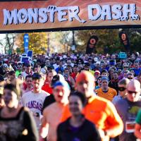 Monster Dash at CHS Field