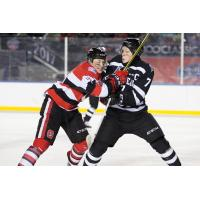 Olympiques Outlast 67's in Chilly Outdoor Game