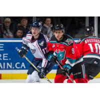 Rockets Clash with Americans at Prospera Place