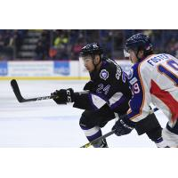 F Tyrell Goulbourne Becomes 1st Former Royal to Play for Flyers