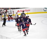 Monsters Win Second Straight