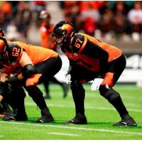 BC Lions Lock-Up OL Hunter Steward for 2018