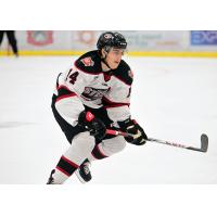 Forward Austin Magera with the Chicago Steel