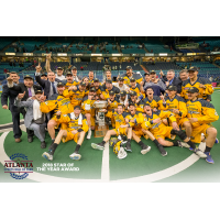 Georgia Swarm Celebrate 2017 NLL Title
