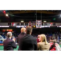 Former Vancouver Stealth Captain Curtis Hodgson and Family