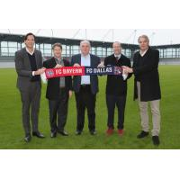 Rudolf Vidal, Clark Hunt, Uli Hoeness, Dan Hunt and Joeg Wacker