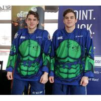 Sudbury Wolves Superhero Jerseys