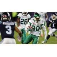 Defensive Back Otha Foster with the Saskatchewan Roughriders