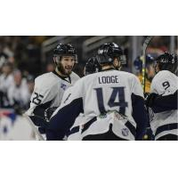 Jacksonville IceMen Defenseman Chris Joseph and Teammates