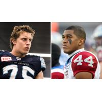 Ottawa RedBlacks Signees DL Cameron Walker and DB Andrew Lue
